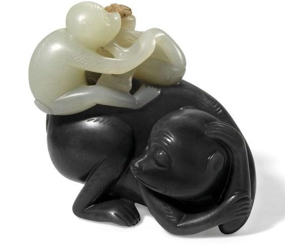 обезьянки из нефрита