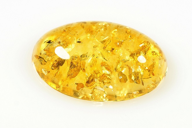 Желтый янтарь