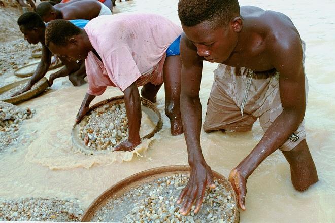 Добыча алмаза в ЮАР