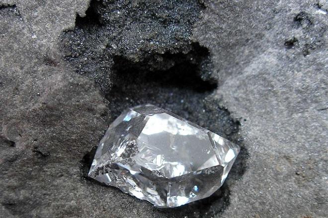 Добыча бриллианта
