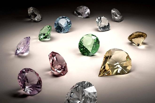 Цветовая палитра алмаза