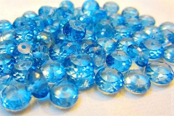 Сине-голубая шпинель
