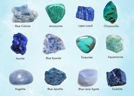 все голубые камни