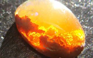ОГНЕННЫЙ ОПАЛ — невероятные цвета солнечного камня