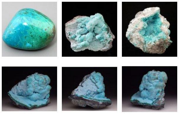 камни хризоколлы