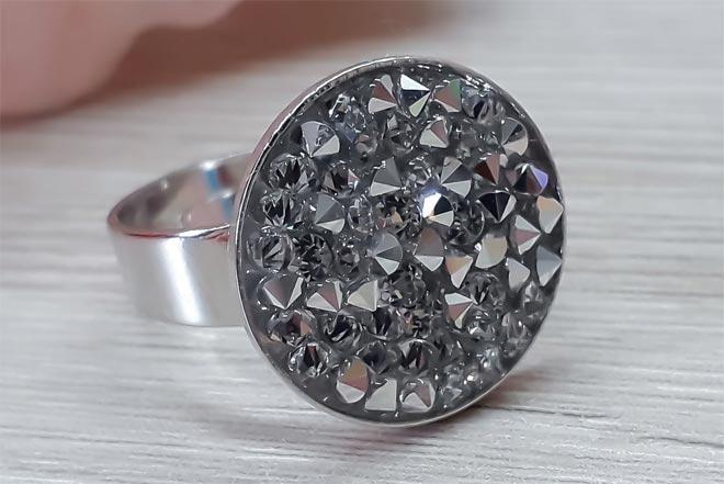 кольцо родий