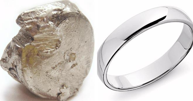 платина кольцо