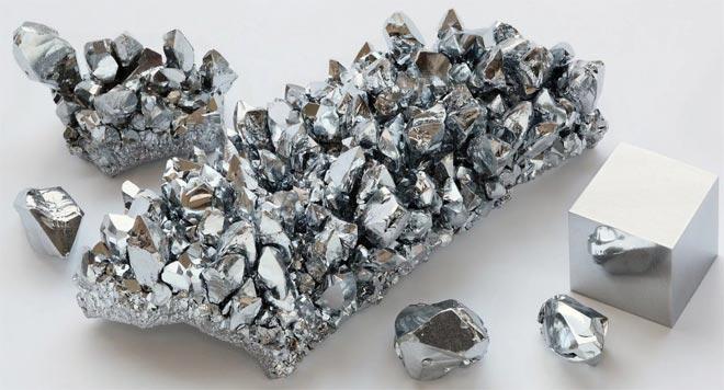 серебро металл