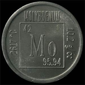 Молибден элемент