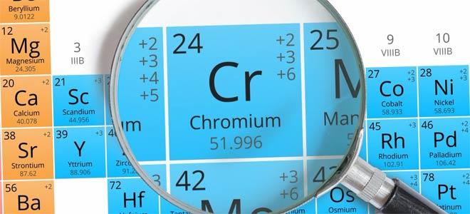 хром химический элемент