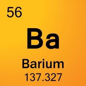 Барий элемент